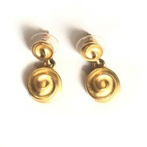 Givenchy Vintage Gold Earrings